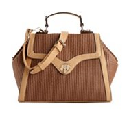 Urban Expressions Aria Top Handle Woven Satchel