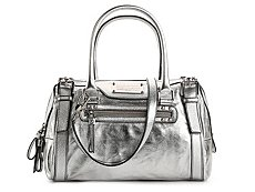 Dolce & Gabbana Metallic Leather Satchel