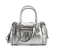 Dolce & Gabbana Metallic Leather Satchel