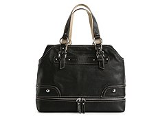 Dolce & Gabbana Leather Base Zip Shoulder Bag