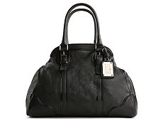 Dolce & Gabbana Leather Bowler Satchel