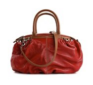 Dolce & Gabbana Leather Bucket Satchel