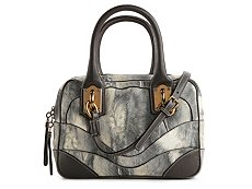 Dolce & Gabbana Printed Leather Satchel