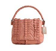 Dolce & Gabbana Leather Ruffle Hobo