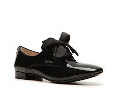 Prada Patent Leather Bow Oxford