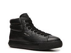 Prada Leather Logo Sneaker