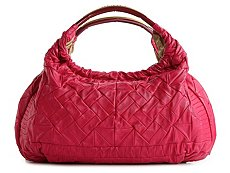 Roberto Cavalli Leather Quilted Hobo