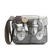 Chloe Leather Buckle Wristlet