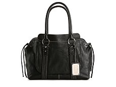 Dolce & Gabbana Leather Stitched Tie Shoulder bag