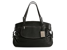 Dolce & Gabbana Side Buckle Leather Shoulder Bag