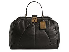 Dolce & Gabbana Leather Dome Satchel