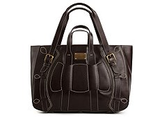 Dolce & Gabbana Leather Panel Tote Bag