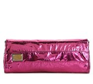 Dolce & Gabbana Metallic Foldover Clutch