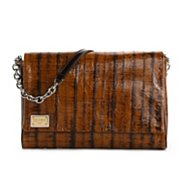 Dolce & Gabbana Leather Foldover Clutch