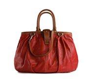 Dolce & Gabbana Leather Buckle Shoulder Bag