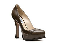Prada Patent Leather Platform Pump