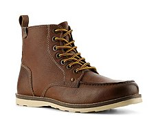 Crevo Buck Moc Toe Boot
