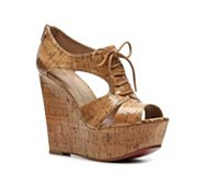 Paris Hilton Aubrie Wedge Sandal