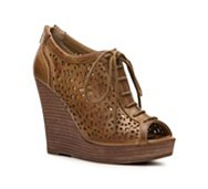 Restricted Maiya Platform Wedge Bootie
