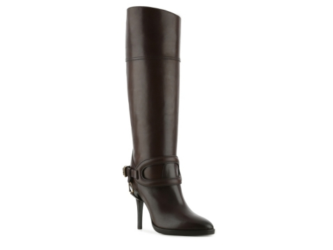 ralph collection kendell leather buckle boot dsw