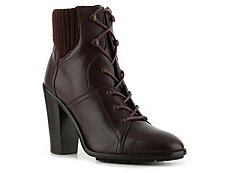 Ralph Lauren Collection Rayna Leather Cuff Bootie