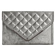 BCBGeneration Mason Quilted Envelope Clutch