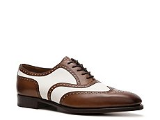 Ralph Lauren Collection Paycen Leather & Suede Wingtip Oxford