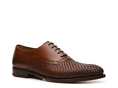 Ralph Lauren Collection Dunscar Woven Leather Oxford