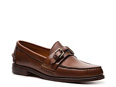 Ralph Lauren Collection Thatcher Leather Buckle Slip-On