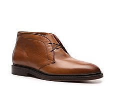 Ralph Lauren Collection Saunders Burnished Leather Chukka Boot