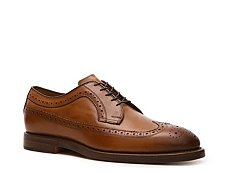 Ralph Lauren Collection Sanderson Burnished Leather Oxford