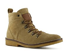 Ralph Lauren Collection Kettering Suede Logo Boot
