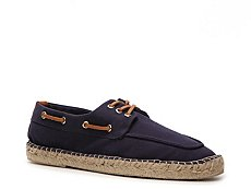 Ralph Lauren Collection Bonner Canvas Boat Shoe