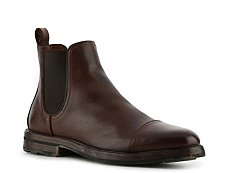 Ralph Lauren Collection Mosley Leather Cap Toe Boot
