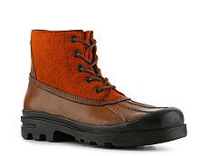 Ralph Lauren Collection Ravensworth Leather & Wool Boot