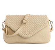 Urban Expressions Daisy Woven Cross Body Bag