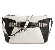 orYANY Leather Alpha Crossbody Bag