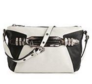 orYANY Leather Alpha Crossbody Bag