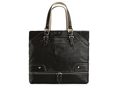 Dolce & Gabbana Leather Base Zip Tote Bag