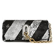 Dolce & Gabbana Sequin Stripe Clutch