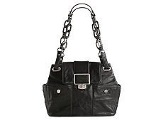 Balenciaga Leather Turn Lock Shoulder Bag