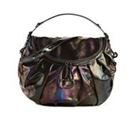Gucci Patent Iridescent Hobo Bag