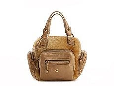 Tod's Leather & Fur Mini Satchel