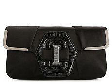 Tod's Satin Buckle Clutch