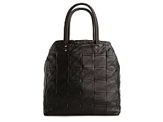 Yves Saint Laurent Leather Quilted Square Tote