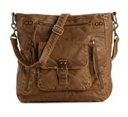 Mix No. 6 Washed Multi Zip Crossbody Bag