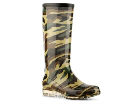 Awesome Womens Monogram Camo Rainboots Rain Boots With Bow Wellies Camo