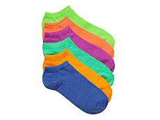 Mix No. 6 Marled Womens No Show Socks - 6 Pack