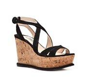 Prada Suede Wedge Sandal