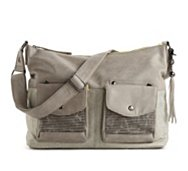 POVERTY FLATS by rian Dueling Pocket Messenger Bag